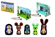Detoa Theater Mole magnetic wooden with figures in a box 33x23x3,5cm