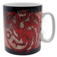 Hrnček Game of Thrones - Targaryen 460 ml