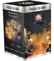 The Witcher Playing Gwent Puzzle - 1000pcs
