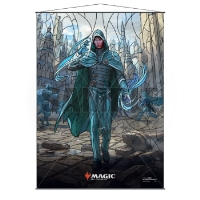 Magic: The Gathering Stained Glass Wall Scroll - Jace