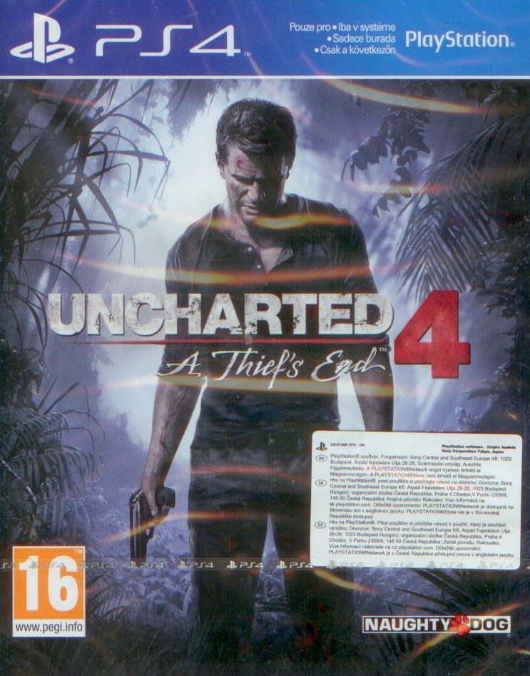 ab1167ce2 Uncharted 4: A Thief's End (PS4)