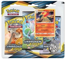 Pokémon Sun and Moon - Unbroken Bonds - 3 Pack Blister - Typhlosion