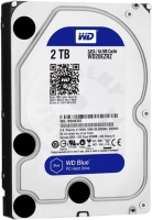 "Western Digital 2TB HDD WD20EZRZ Blue, 3,5"" 64 MB SATAIII 5400RPM 2RZ (PC/MAC)"