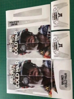 Vinyl cover (stickers) for console - CoD BO Cold War (PS5)
