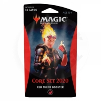 Magic: The Gathering Core Set 2020 Theme Booster - Red
