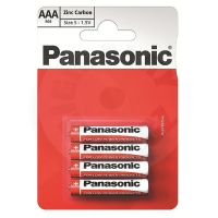 Panasonic Zinc Carbon AAA battery 4pcs