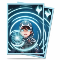 UltraPRO Deck Protector: 100 Sleeves - Chibi Collection: Jace - Mystic for Magic