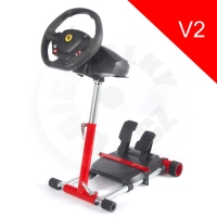 Wheel Stand Pro, stojan pro Thrustmaster T80/T100/T150, F458 Italia a Spider - Red