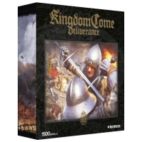 Kingdom Come: Deliverance  Puzzle - Na život a smrt - 1500ks