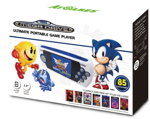 AtGames Sega Mega Drive Ultimate Portable Game Player - 85 her