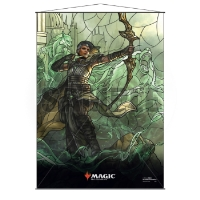 Magic: The Gathering Stained Glass Wall Scroll - Vivien