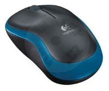 Logitech Wireless Mouse M185 - modrá (PC)