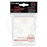 UltraPRO Deck Protector: 50 Sleeves - Pro-Team White