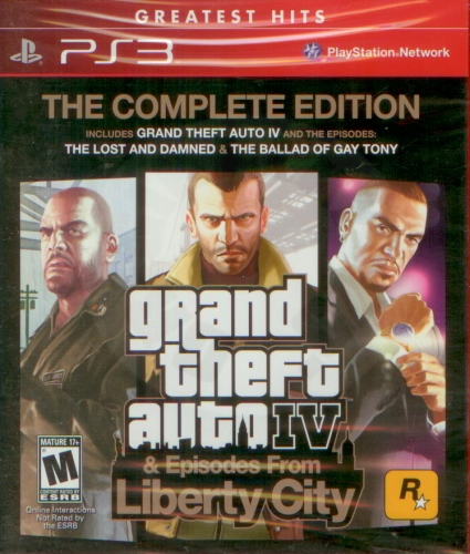 Grand Theft Auto: The Complete Edition (PS3)