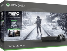 Microsoft Xbox One X 1 TB Metro Trilogy bundle