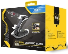 Steelplay Dual Controller Charging Stand (PS4)