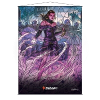Magic: The Gathering Stained Glass Wall Scroll - Liliana